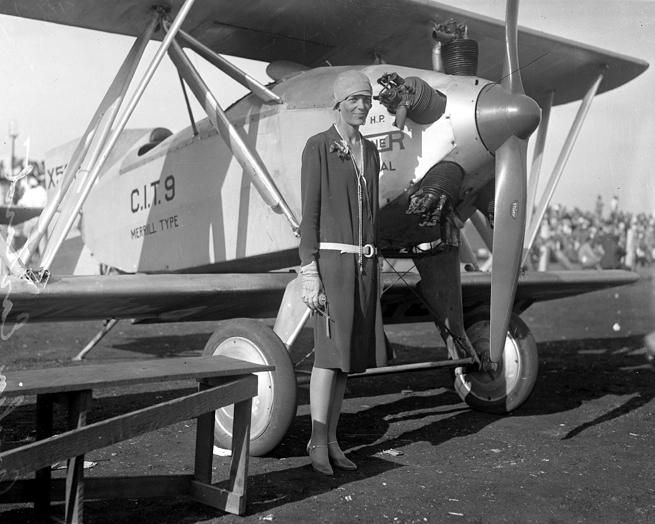 2 - Amelia Earhart